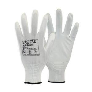 Maat M / Maat 8 | Werkplaatshandschoenen per 12 stuks verpakt Wit